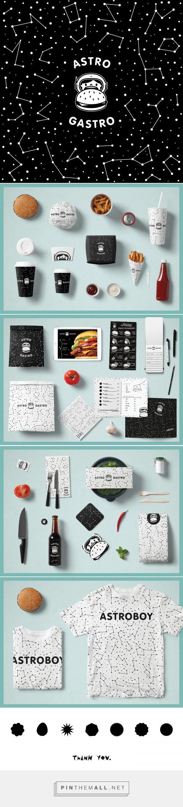 Astro Gastro Burger Bar Branding by Tomek Domanski   Fivestar Branding – Design and Branding Agency & Inspiration Gallery