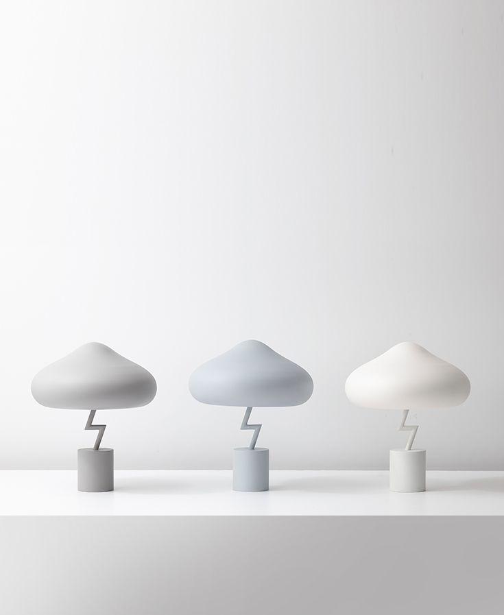 Lightning Lamp - Table Lamp 2017 Designed by Jiyoun Kim Jiyoun Kim Studio™ www.jiyounkim.com