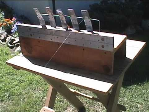 Target Practice in the backyard with a homemade reactive target - YouTube