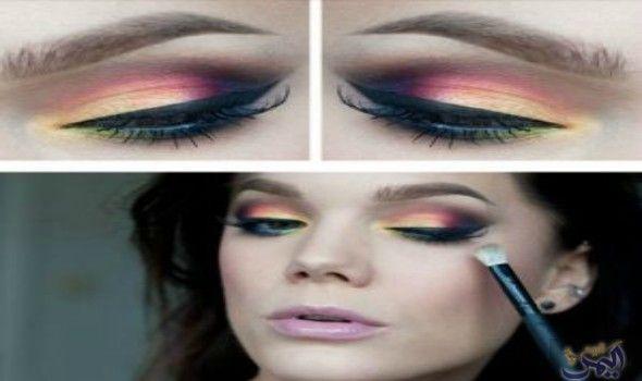 نصائح لوضع المكياج باللون الوردي والوصول لإطلالة جذابة Makeup Halloween Face Makeup Face Makeup