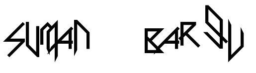 Skrillex Font and Skrillex Logo