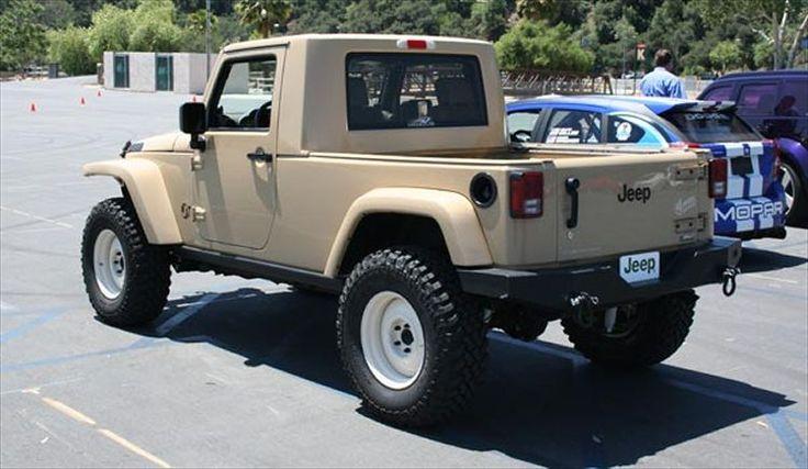 2012 Jeep Pickup Truck