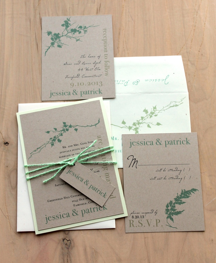 mint wedding invitations ivory mint green rustic chic amp wedding 5958