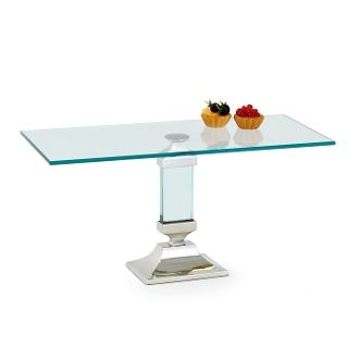 Square Glass Cakestand For Hostess Gift. Hostess GiftsCooking