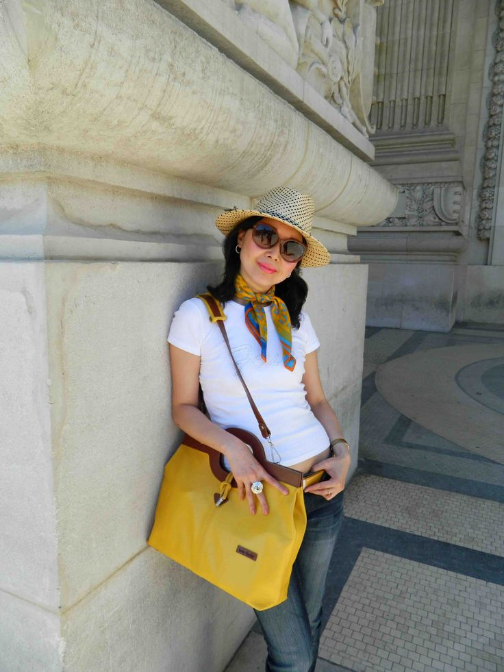 I AM totally a hats girl. I just LOVE wearing hats!!! Normally, I'd check in my flight with my hat on, and keep my other hats in a carry-on bag. A hat box just takes way too much space in a l…