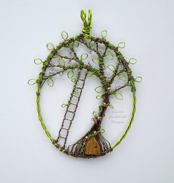 Hey, I found this really awesome Etsy listing at https://www.etsy.com/listing/233375009/faerie-dell-house-wire-tree-of-life