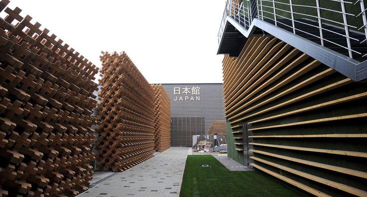 Japan Pavilion At Expo Milano 2015, architecture by Atsushi Kitagawara   #ExpoMilano #IntraLighting #Pipes