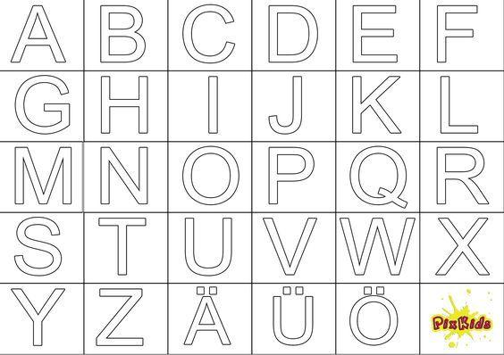 Ausmalbild Abc Kostenlose Malvorlagen Alphabet Art Coloring Pages Alphabet