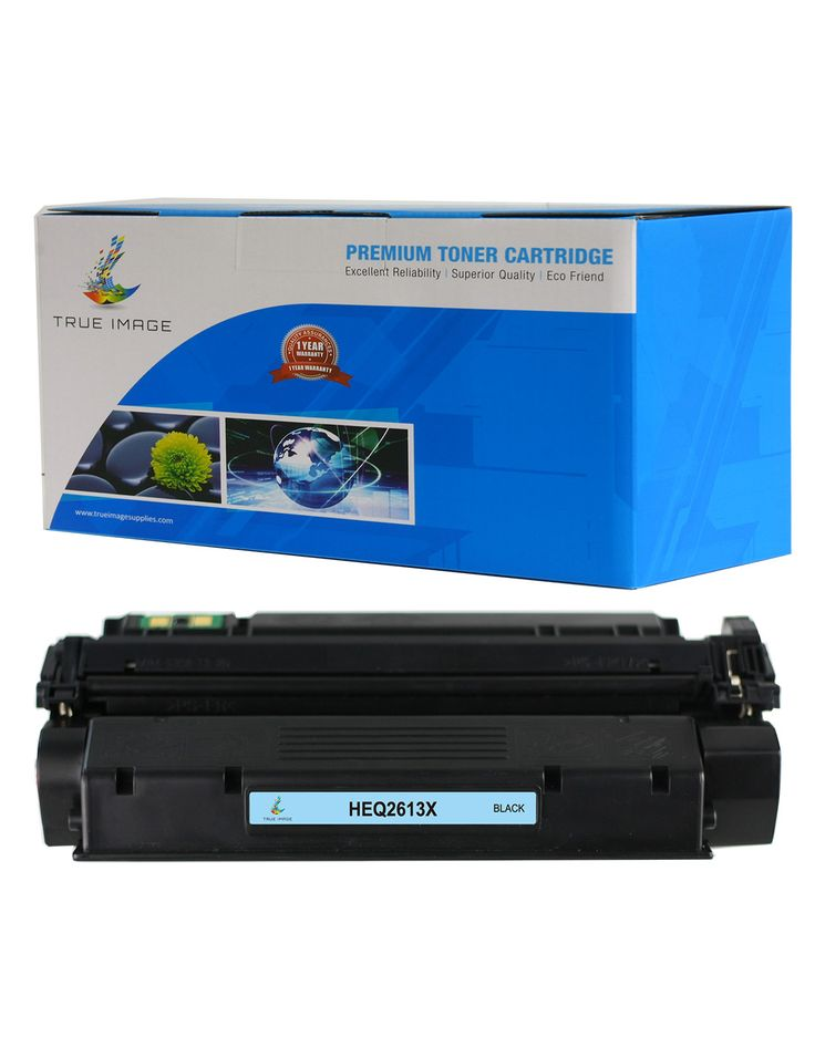 TRUE IMAGE® HEQ2613X Black Toner Replaces HP 13X Q2613X