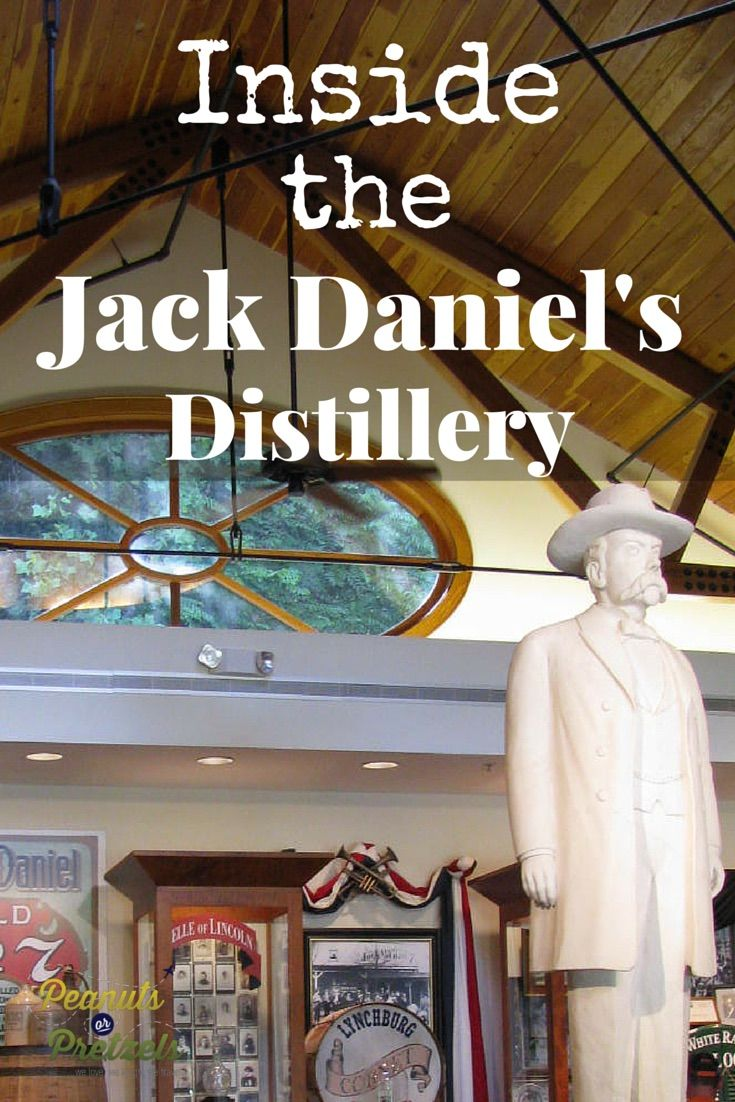 Buy the Bottle & Get the Whiskey Free - Jack Daniel's Distillery in Lynchburg, Tennessee - Peanuts or Pretzels Travel