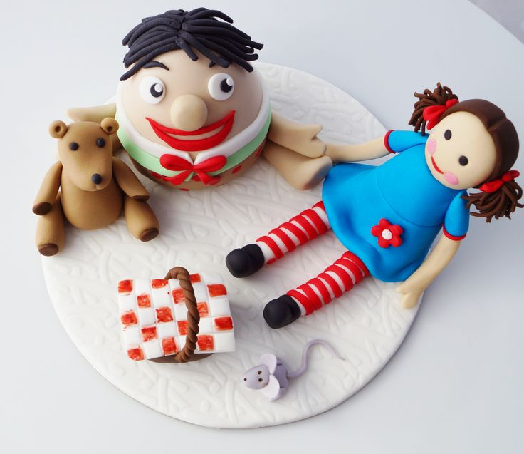 Play School fondant cake topper :)