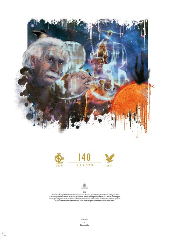 Stefan Smit's piece 1906 - for the Lyle and Scott 140 Years birthday celebration