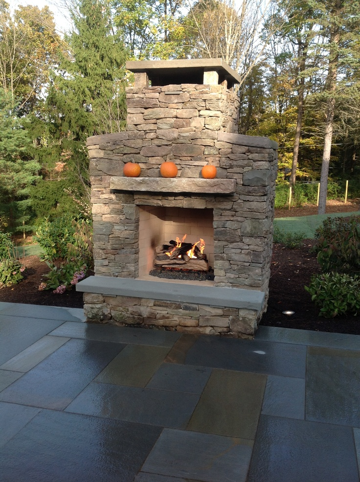 17 best images about outdoor spaces on pinterest for Outdoor gas fireplace designs