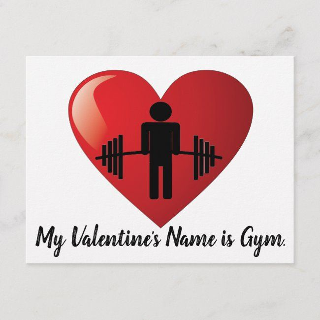 Funny Fitness Gym Valentine Card Zazzle Com Workout Humor Valentines Cards Gym Workouts