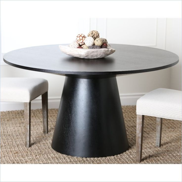 Best 25 Round Wood Table Ideas On Pinterest Small Round