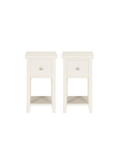 Hastings Ivory Compact Bedside Chests - Marks & Spencer put ivory wicker  baskets underneath ?