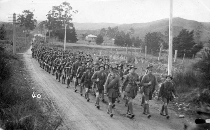 C Company 15th Reinforcement NZEF Trentham [Postcard 029] | Upper Hutt City Library