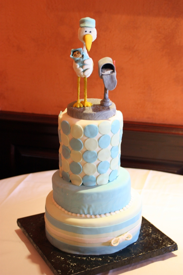 My sister's AMAZING baby shower cake made by Julie Takes the Cake