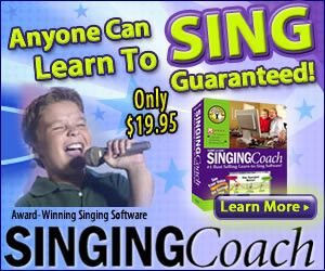 New Giveaway ~ Enter to Win a Copy of Singing Coach ~ Award Winning Singing Software! | Homeschool Giveaways