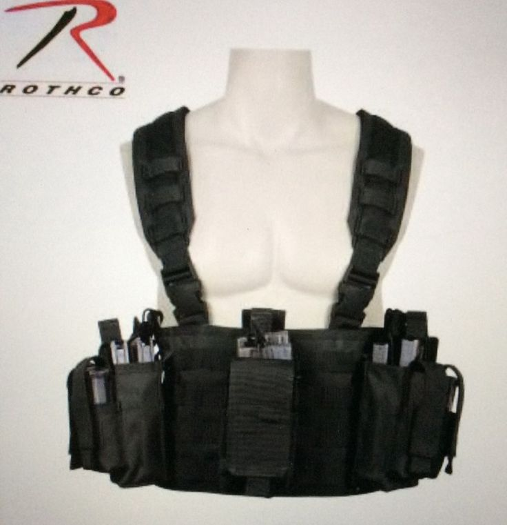 Rothco operators tactical chest rig survival emergency disaster black bug outbag #Rothco