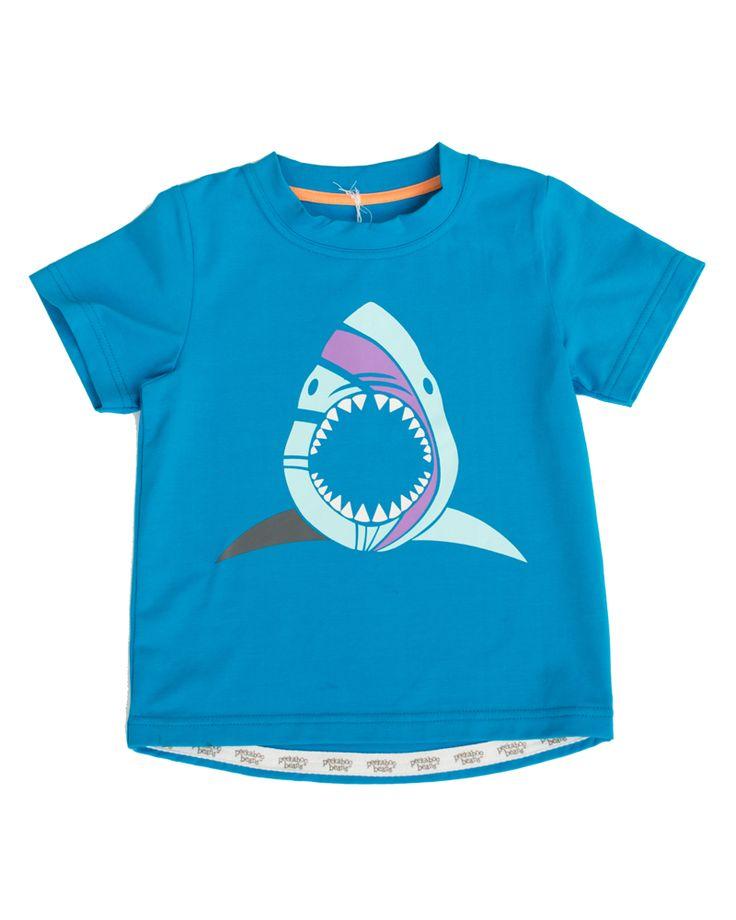 Peekaboo Beans - Shark Point Tee