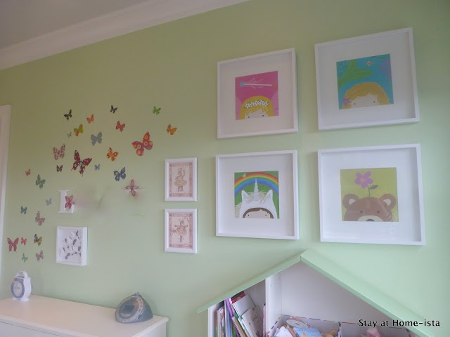 Little Girlu0027s Butterfly Room ~ There Arenu0027t Any Great Pics Of It, But