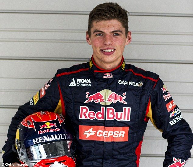 Max Verstappen to become youngest ever driver at Grand Prix weekend