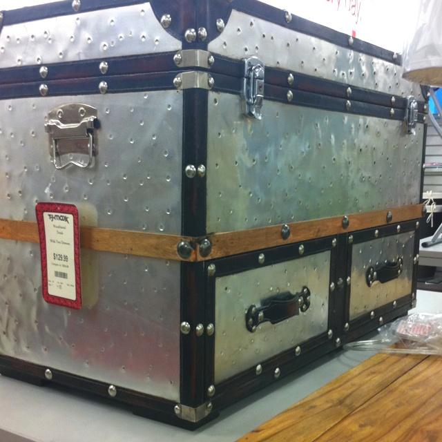 Industrial Vibe Trunk Tj Maxx Furniture Wants