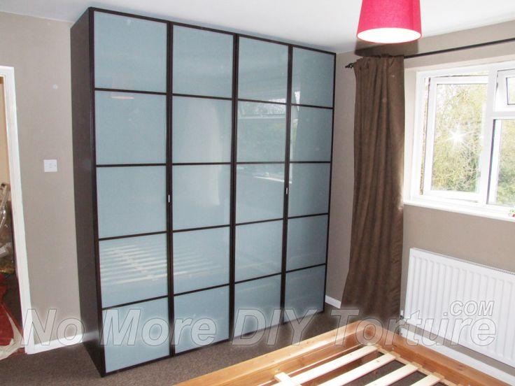 Ikea Pax Fevik Door Wardrobe Woodruff Bedroom