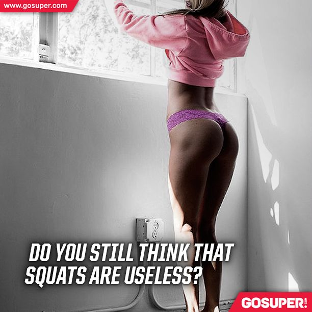 Do you still think that squats are useless? #gosuper #supplements #nutrition #sports #gym #fitness #girl #squats #workout