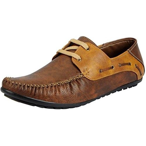 11608114405 Buy Moonster Casual Stylish Brown Synthetic Leather Boat Shoes online in  India at best price.Stylish Men s Casual Loafers Shoes For Men And Boys By  Moonster ...