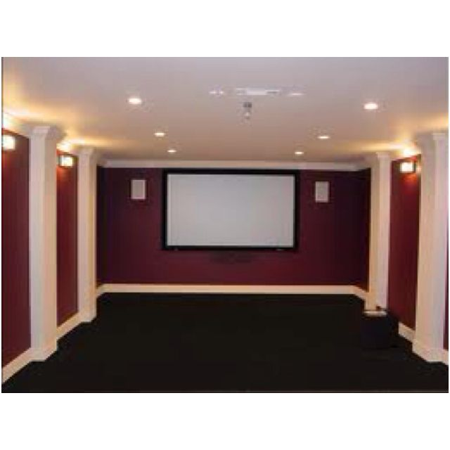58 best images about theatre room on pinterest paint colors home theaters and theater rooms - Best paint color for home theater ...