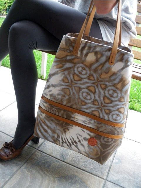 bolsVA  -  Virginia Agudo: maxi bolso para primavera