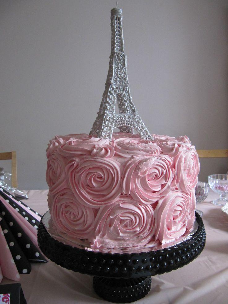 Eiffel Tower Birthday Cake Ideas