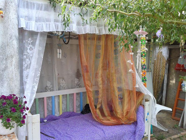 Môj letný pelíšek :)