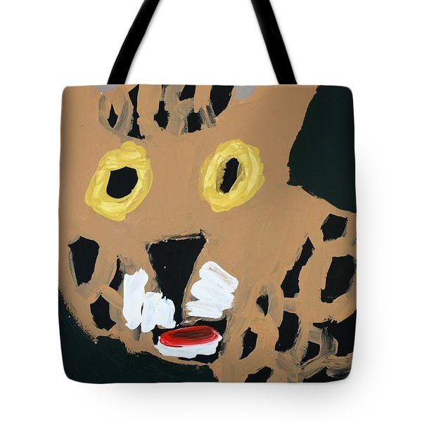 Patrick Francis - Tote Bag featuring the painting Jaguar 2014 by Patrick Francis