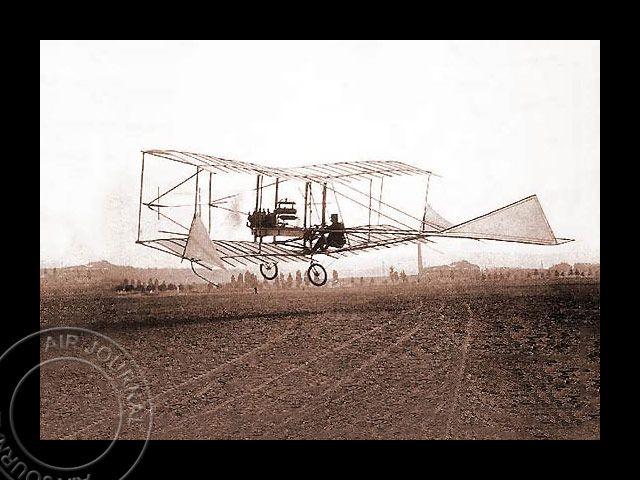 Le 25 mai 1905 dans le ciel : Test du « n° 6 Bis », un planeur finalement motorisé