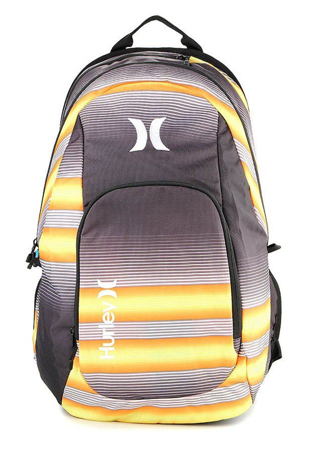 Mission Bag in yellow by Hurley. FIts 3 liter. Made of polyester material. This bag, with this bright color gives you an egde if you wear this to school, campus or when traveling. http://www.zocko.com/z/JINmo