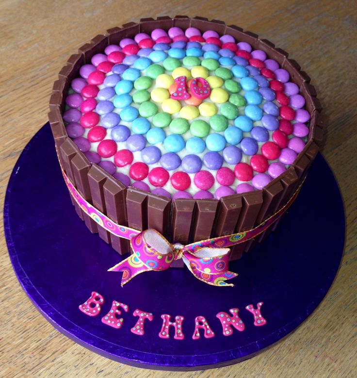 1000+ images about Smarties cake on Pinterest Pinata ...