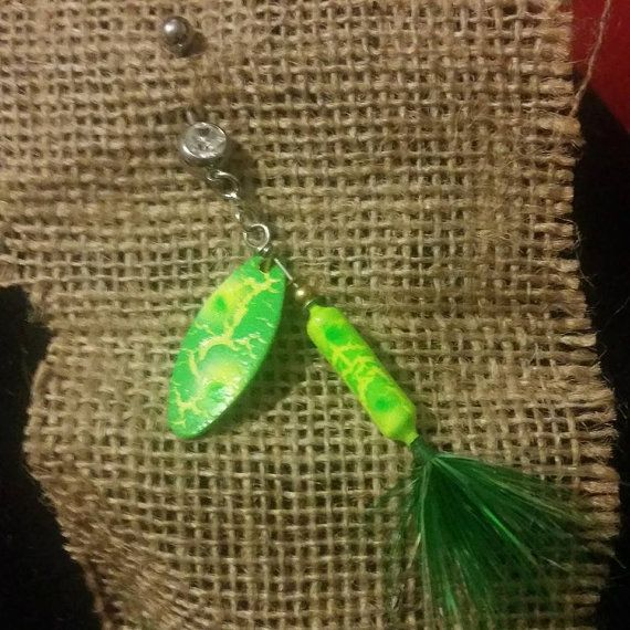 Green and yellow splattered crackle paint by for Green top hunt fish