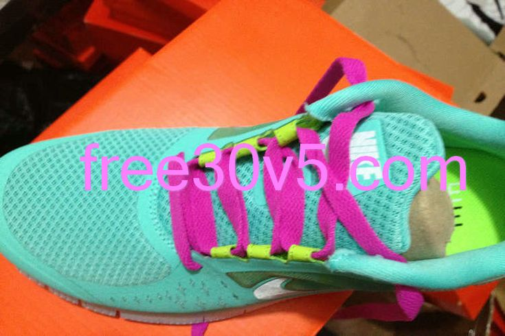 Tiffany Blue Nikes  Mint Green Nike Free Run 3 Rose Lace      #tiffany #free #runs