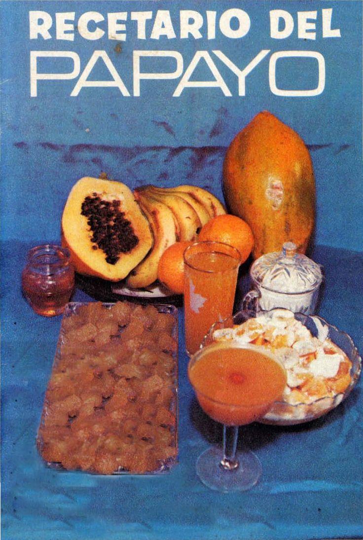 Recetario del papayo