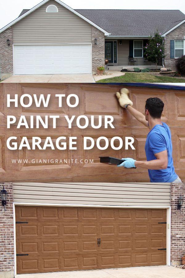 Giani English Oak Wood Look Kit For Garage Doors Garage Doors Diy Garage Door Wood Garage Doors