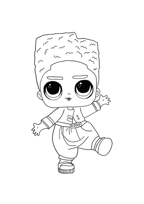 Lol Hairvibes Da Fresh Coloring Page Coloring Pages Star Coloring Pages Free Printable Coloring
