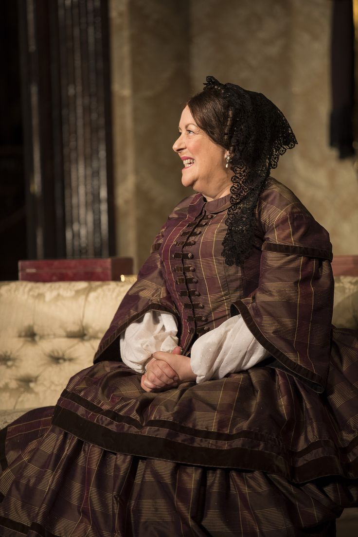 Marion O'Dwyer in The Heiress by Ruth and Augustus Goetz, based on the novel Washington Square by Henry James. Picture by Pat Redmond