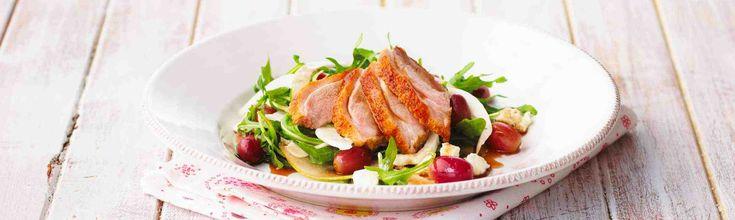 Warm Alfresco Duck Salad Recipe – Duck Breasts ›› Luv-a-Duck – Australia's Favourite Duck
