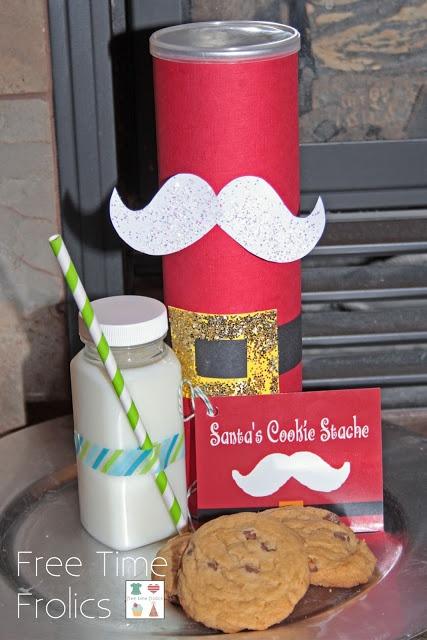 "Santa's Cookie ""Stache"""