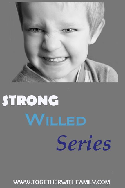 If you have a strong willed child, this series is a must!!!