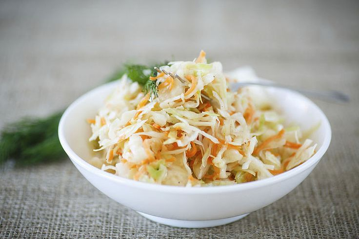 Coleslaw homemade