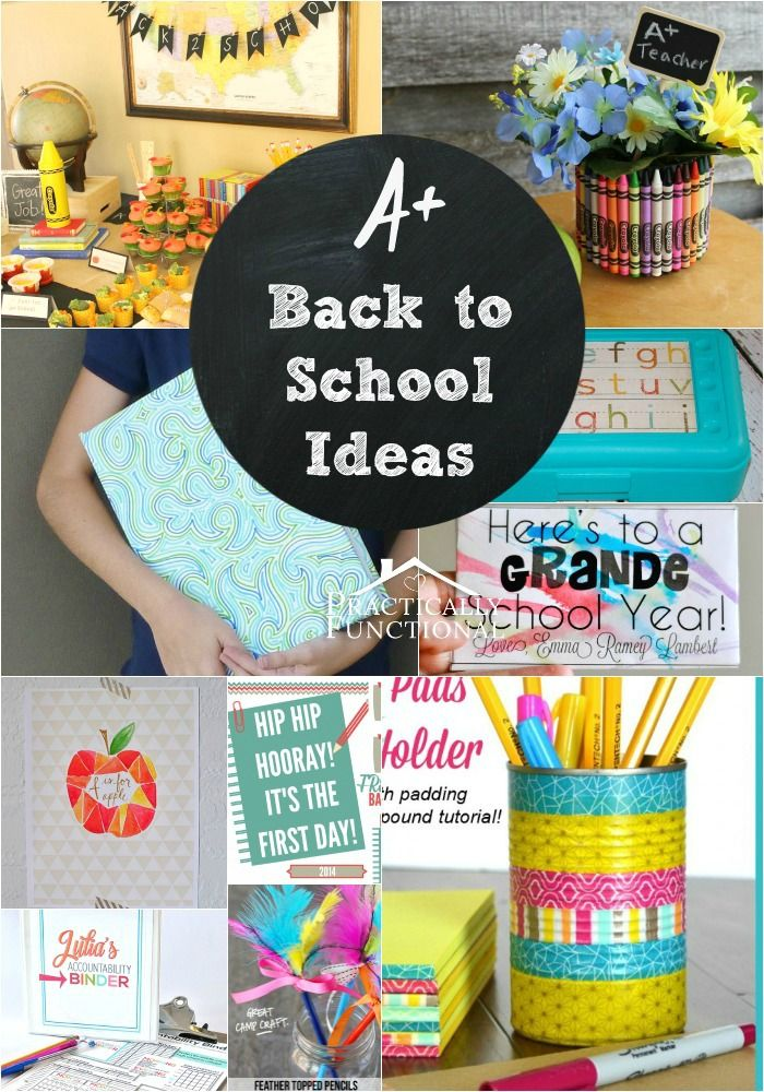 13 creative back to school ideas!